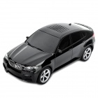 Car Style Bluetooth V2.0 Class 2 MP3 Player Speaker w/ TF Slot - Black