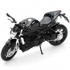 1:12 Ducati Streetfighter Model Motorcycle for Display / Collection - Black + Silver