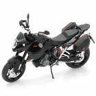 1:12 KTM990 Model Motorcycle for Display / Collection - Black + Silver + White
