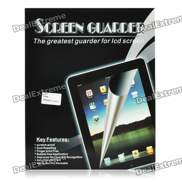 Protective Matte Frosted Screen Protector Guard Film with Cleaning Cloth for the New Ipad