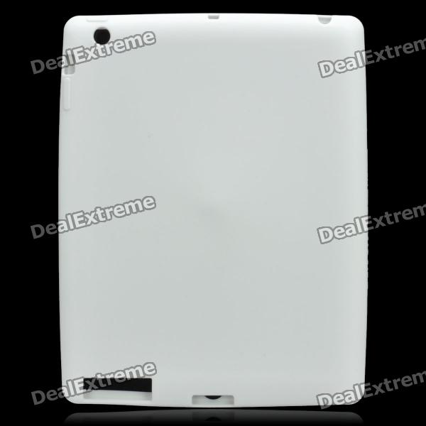 Protective Soft Silicone Case for the New Ipad - White