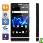 "Sony Xperia S LT26i WCDMA Android 2.3 Smart Phone w/4.3"" Capacitive, 12 MP Camera and GPS - Black"