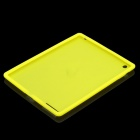 Protective Soft Silicone Case for the New Ipad - Yellow