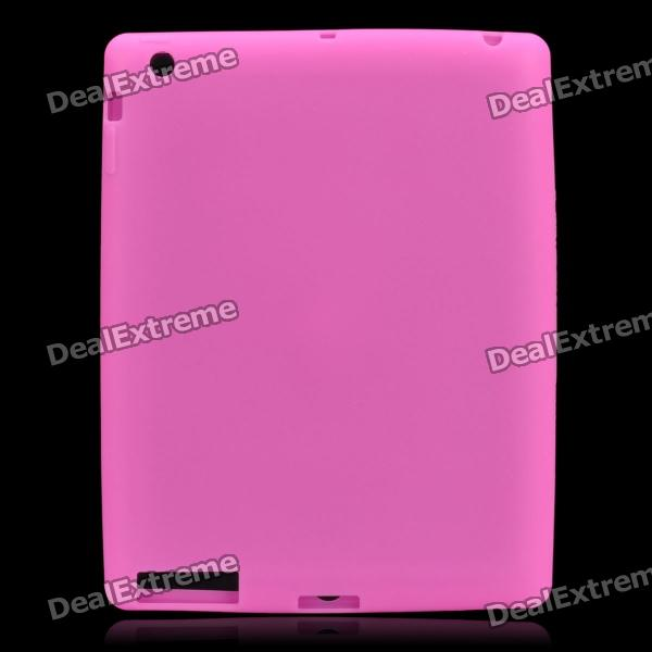 Protective Soft Silicone Case for the New Ipad - Pink от DX.com INT