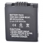 Replacement CGA-S001 3.7V 700mAh Battery for Panasonic Lumix DMC-F1E-S + More
