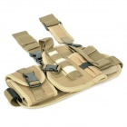 Outdoor War Game Military Gun Pistol Holster - Coyote Tan