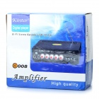 "KT-008 1.7"" LCD Multi-Function Hi-Fi MP3 Player Amplifier w/ FM / SD / Mic for Car / Household"