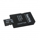 Genuine Sandisk Micro SD/TF Card with SD Card Adapter (16GB)