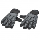 Outdoor Transformers Full Finger Tactical Gloves - Black (XL-Size/Pair)