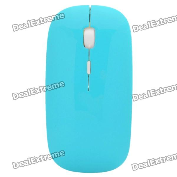 2.4GHz Rechargeable Laser Wireless Optical Mouse with USB Receiver - Blue (1 x BL-6P 830mAh 3.7V)