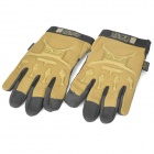 Mechanix Wear M-Pact Full Finger Tactical Gloves (Coyote Brown + Black / Size L)