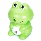 Cute Frog Style Hand-Crank Pencil Sharpener - Green
