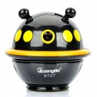 Cool UFO Style Hand-Crank Pencil Sharpener - Black