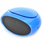 Q6 MP3 Player Speaker w / FM / TF / USB / 3,5 mm Audio Jack - Blue
