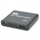 Jesurun 08H 1080P Multi-Media Player w/ HDMI / USB / AV - Black