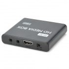 Jesurun 08H 1080P Multi-Media Player w / HDMI / USB / AV - Negro