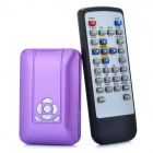 Jesurun J11 Mini 1080P Full HD Media Player w/ HDMI / USB / SD Slot - Purple