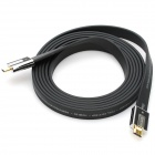 AIBORG G2800 3D HDMI V1.4 Male to Male Flat Connection Cable - Black (3M-Length)