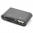 OTG Connection Kit + Card Reader for Samsung Galaxy Tab P7510/P7500/P7300/P7310 - Black