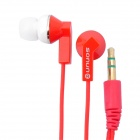 SN-001MP Noise Isolation In-Ear Earphone - Red (3.5mm Jack / 120cm Cable)