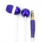 Genuine Kanen E20 Noise Isolation In-Ear Earphone - Purple + White (3.5mm Jack / 120cm Cable)
