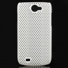 Protective PS Plastic Case for Samsung Galaxy W i8150 - White