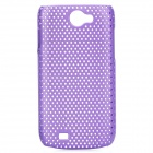Protective PS Plastic Case for Samsung Galaxy W i8150 - Purple