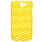 Protective PS Plastic Case for Samsung Galaxy W i8150 - Yellow