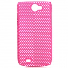 Protective PS Plastic Case for Samsung Galaxy W i8150 - Rosy