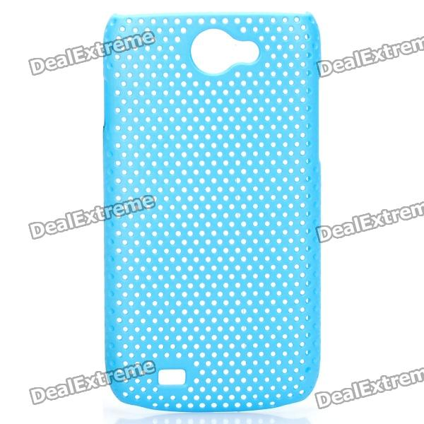 Protective PS Plastic Case for Samsung Galaxy W i8150 - Blue
