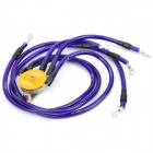 D1 SPEC Modified Grounding Wires Cables - Deep Blue (6-Cable Set)