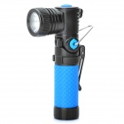 NEW-898 Cree XR-E Q5 310LM 3-Mode LED Magnet Flashlight w/ Battery and Charger (1x14500 / 1xAA)