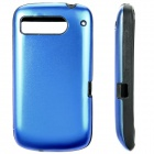 Protective Silicone + Aluminum Back Cover Case for HTC DESIRE S/G12/S510E/G7S - Blue