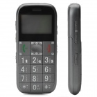 "GK503 GSM Senior Citizens Cell Phone w/ 1.7"" LCD, Quadband, GPS and FM - Grey"