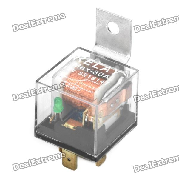 80A 5-Pin Car Power Relay (DC 12V) new high current 500a amp relay dc 12v 24v 4 pin continues working auto power switch on off control for car motors drives