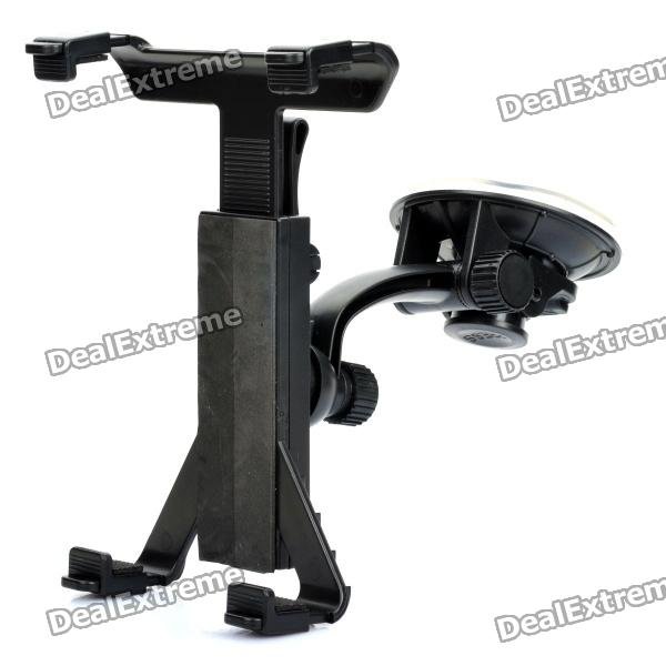все цены на Car Windshield Swivel 360 Degrees Rotate Mount Holder for The New Ipad - Black онлайн