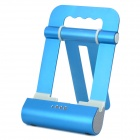 Foldable Charging Docking Stand w/ Speaker for Apple iPod / iPad / iPhone - Blue