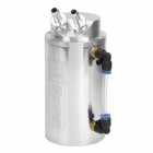 Aluminum Alloy Oil Catch Tank - Silver (500ml)
