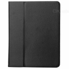 Protective PU Leather Case for The New iPad - Black