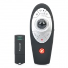 2.4GHz Wireless Presenter with Red Laser Pointer and Trackball Mouse (2 x AAA)