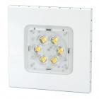 8W 3300K 420LM 6-LED Warm White Light Down Ceiling Lamp (AC 85-265V)