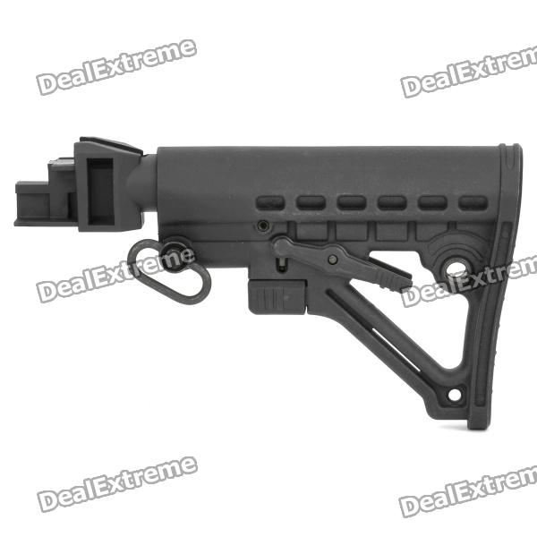 New Plastic Butt Stock for AK-series - Black