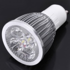 GU10 5W 6500K 490-Lumen 5-LED White Light Bulb (AC 100~245V)