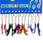 Mustang Horse Bottle Opener Metal Keychains (12-Pack)