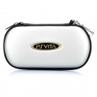 Protective Leather Hard Pouch Case for PS Vita - Silver
