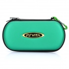 Protective Leather Hard Pouch Case for PS Vita - Green