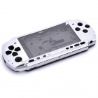 Replacement Full Housing Case for PSP 3000 - Silver + Black