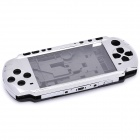 Replacement Full Housing Case for PSP 3000 - Silver Grey + Black