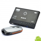Full HD 1080P Android 2.2 Media Player w/ RJ45 / HDMI / 2 x USB / AV / SD - Black (256MB/2GB)