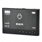 H18 1080P Android 2.2 Media Player w/ RJ45 / HDMI / 2 x USB / AV / SD - Black (256MB/2GB)